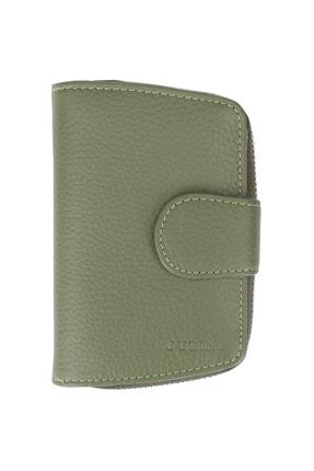 Guzini Kadın Deri Cüzdan 3680 Koyu Yeşil