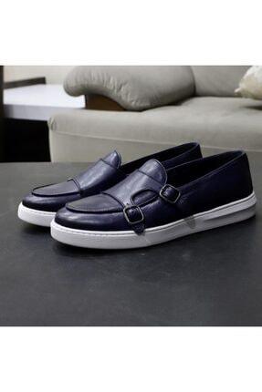 TETRİ Erkek Lacivert Deri Ayakkabı