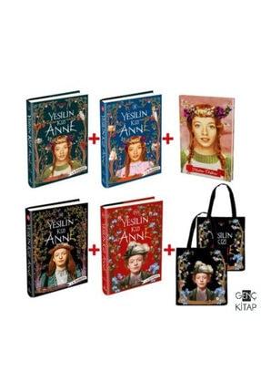 Ephesus Yayınları Yeşilin Kızı Anne 4 Kitap Cilti Set Bez Çanta Ve Kalın Kapak Defter Hediyeli 1-2-3-4 Ephesus