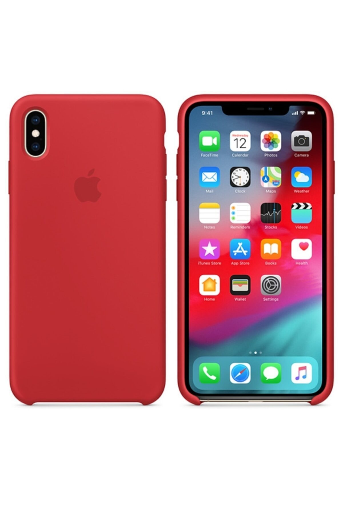 Lopard Apple iPhone XS Max Silikon Kılıf Kauçuk Lansman Arka Kapak Koruma 2