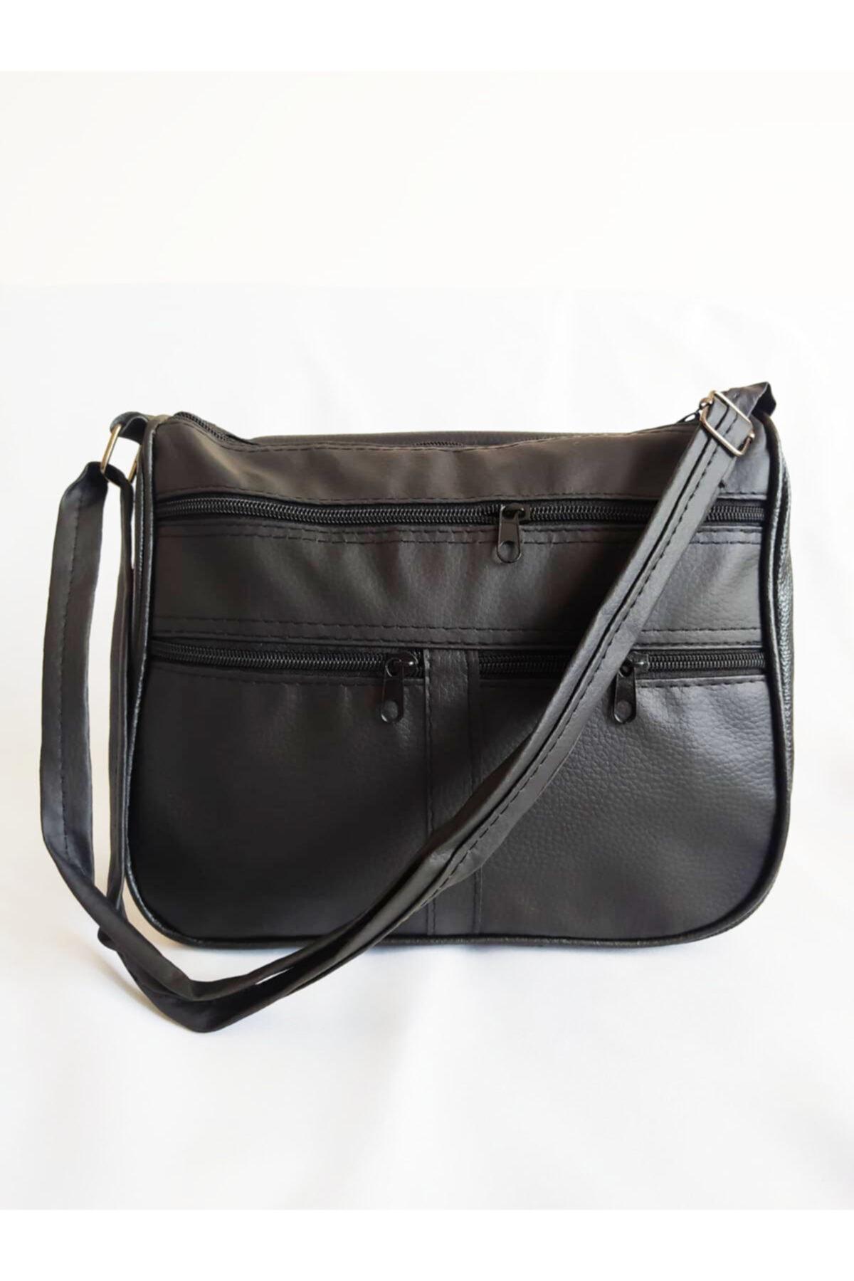 Sheilann Siyah Çapraz Kapaklı Çanta 2