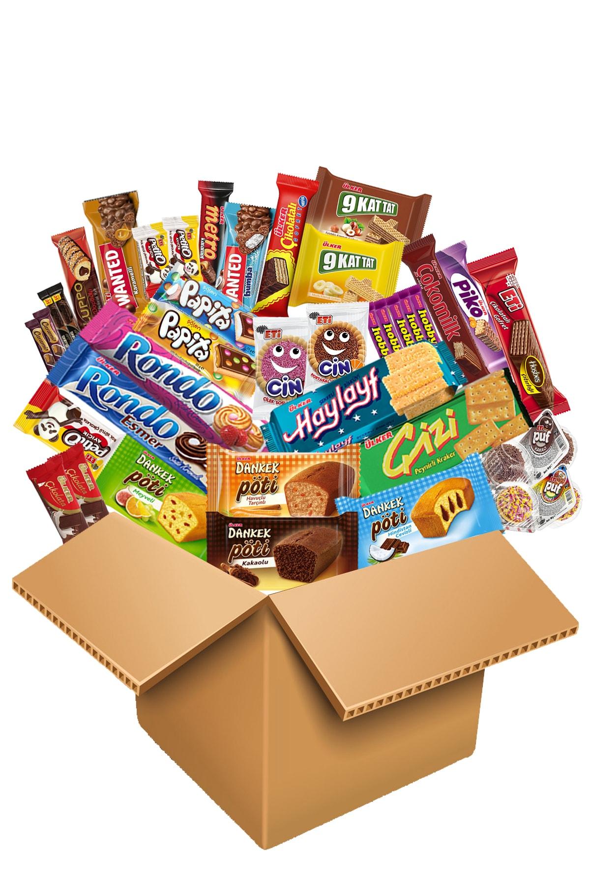 Ülker Benzersiz Çikolata Fırsat Paket 38 Parça 1