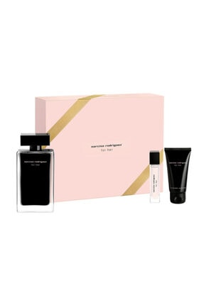 Narciso Rodriguez For Her Edt 100 ml  Kadın Parfüm Seti 3423473055754