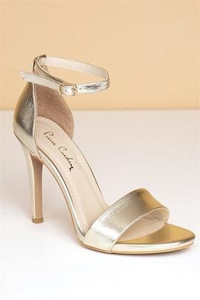 Pierre Cardin Pc-50170 Parlak Altın Kadın Ayakkabı