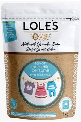 Lole's Doğal Granül Matik Sabun 3 Kg