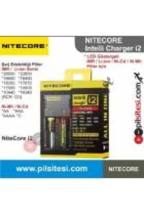 Nitecore Nıtecore Intellicharger New I2 Li-ion & Nı-cd & Nı-mh
