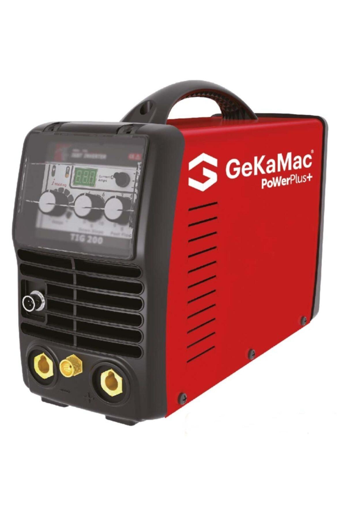 GeKaMac Power Plus Tıg 200 Dc Pfc (tıg/argon Kaynak Makinesi) Tıg Kalemi Hediyeli 1