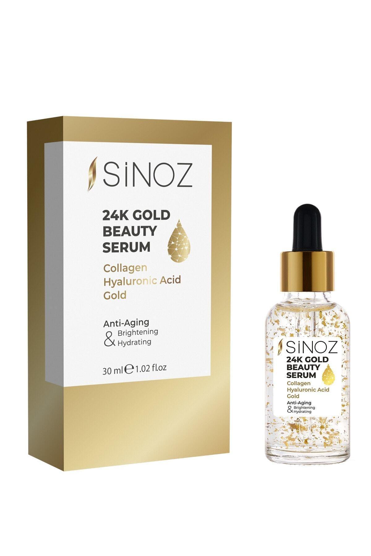 SİNOZ 24k Gold Beauty Serum 30 Ml 2