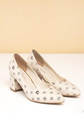 Pierre Cardin Pc-50177 Bej-kahve Kadın Ayakkabı