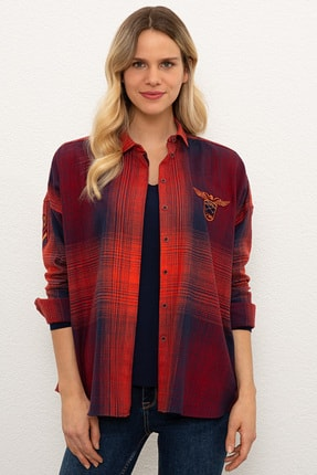 U.S. Polo Assn. Kadın Gömlek G082SZ004.000.1136373