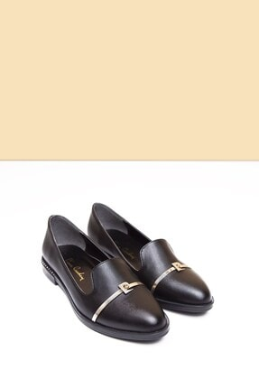 Pierre Cardin PC-50599 Parlak Siyah Kadın Ayakkabı