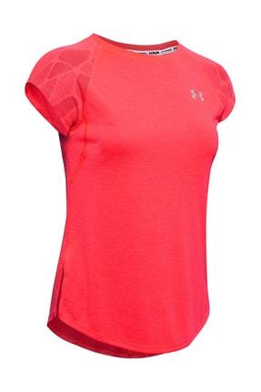 Under Armour Kadın Spor T-Shirt - W Ua Streaker 2.0 Shift Short Sleeve - 1350070-628