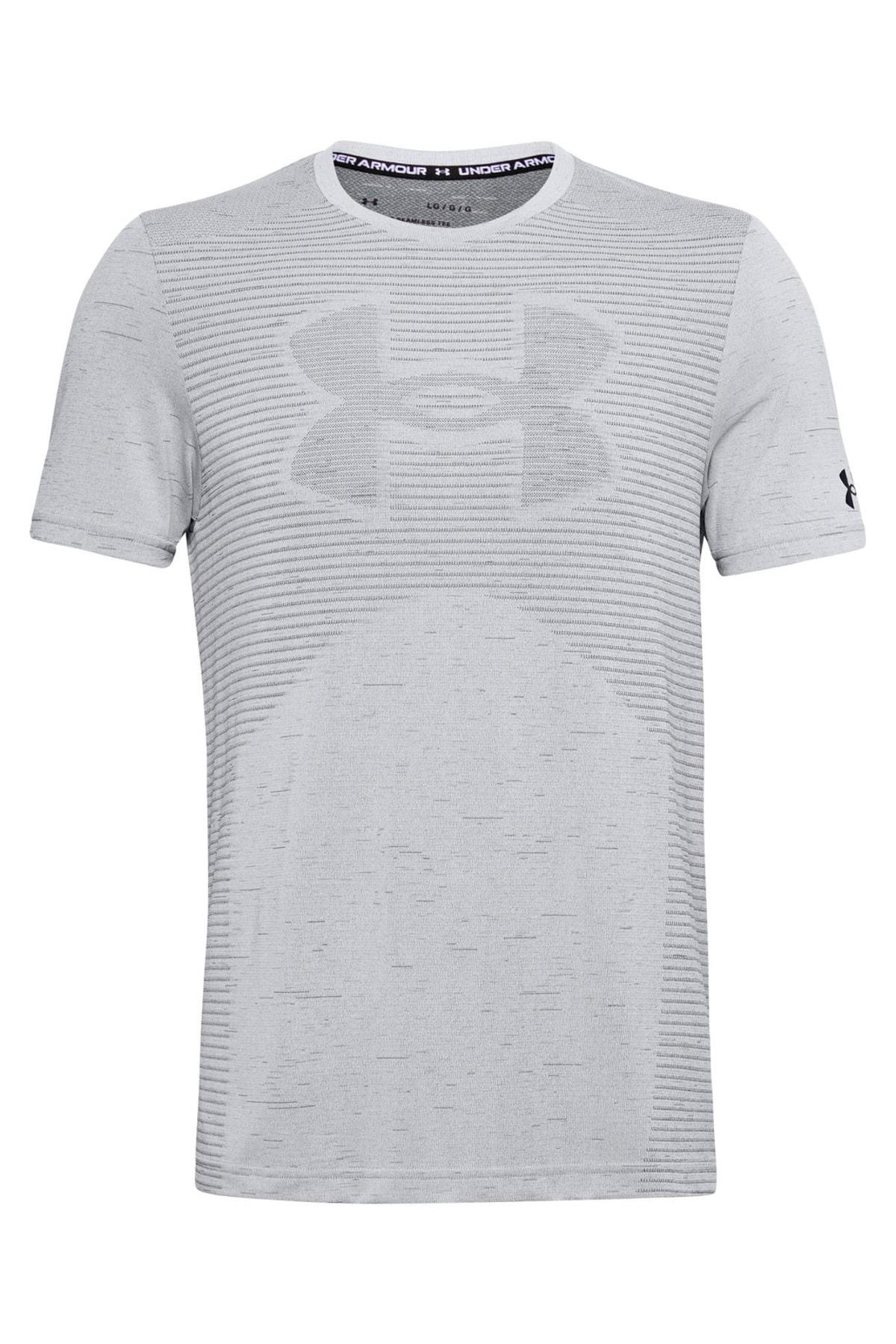 Under Armour Erkek Spor T-Shirt - Ua Seamless Logo Ss - 1356798-014 1