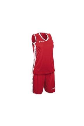 Joma Kadın Basketbol Forma & Şort Takımı Kırmızı Pivot Set 1227w001