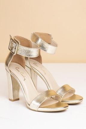 Pierre Cardin PC-50171 Parlak Altın Kadın Ayakkabı