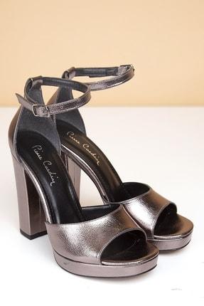 Pierre Cardin PC-50168 Parlak Platın Kadın Ayakkabı