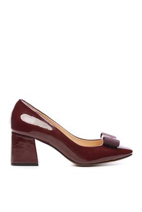 KEMAL TANCA Hakiki Deri Bordo Kadın Ayakkabı 22 5177 BN AYK