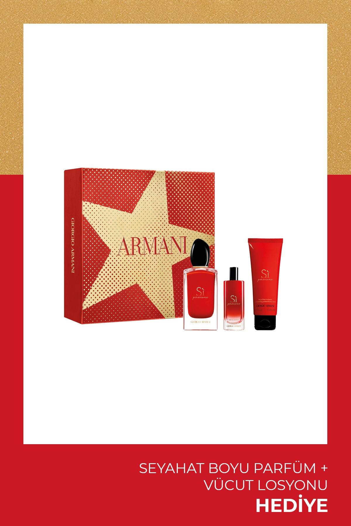 Giorgio Armani Si Passione Kadin Parfüm Seti 100 ml 3614272762077 1