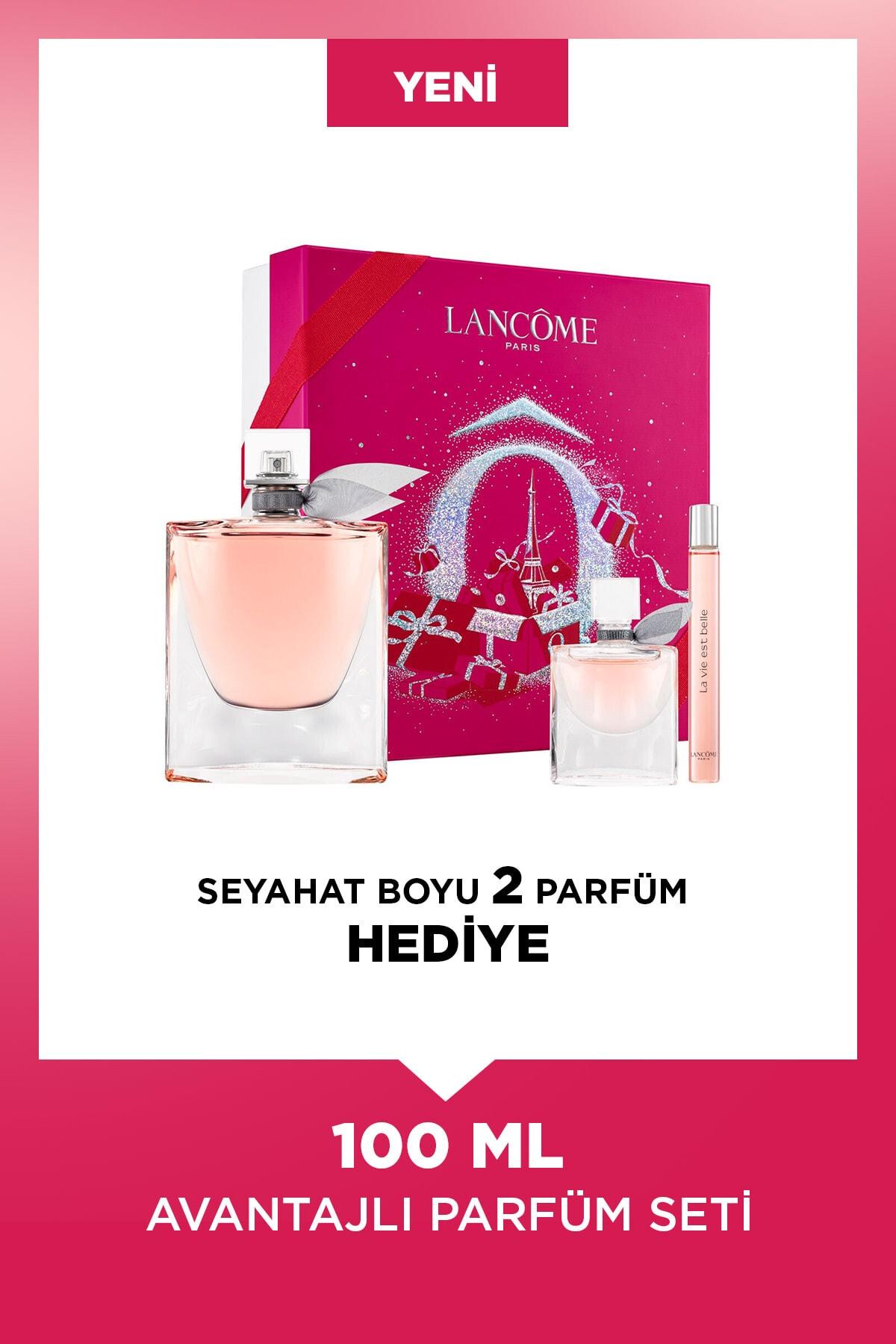 Lancome La Vie Est Belle Edp 100 ml Kadın Parfüm Seti 3614273257459 1