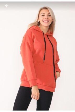 TREND Kadın Tarçın Sweatshirt