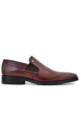 Nevzat Onay Hakiki Deri Kahverengi Günlük Loafer Erkek Ayakkabı -8116-
