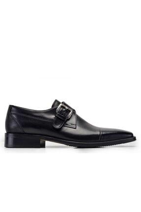 Nevzat Onay Hakiki Deri Siyah Günlük Loafer Erkek Ayakkabı -8110-
