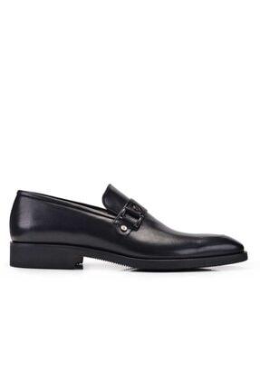 Nevzat Onay Hakiki Deri Siyah Günlük Loafer Erkek Ayakkabı -11274-