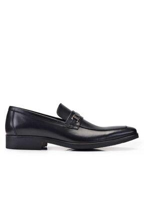 Nevzat Onay Hakiki Deri Siyah Günlük Loafer Erkek Ayakkabı -11275-