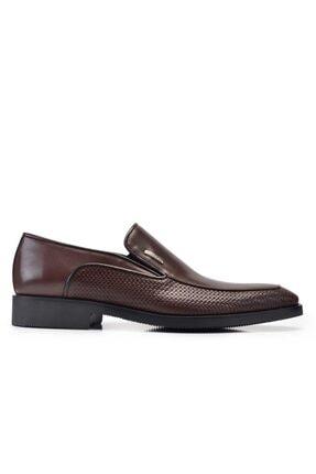 Nevzat Onay Hakiki Deri Kahverengi Günlük Loafer Erkek Ayakkabı -11338-