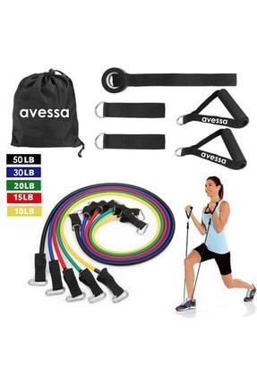 AVESSA 11 Parça Direnç Lastiği Seti Kapı Arası Direnç Lastiği Acs-500