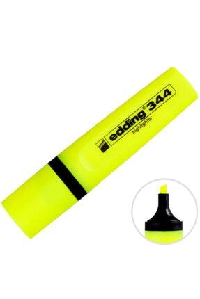 Edding 344 Fosforlu Kalem Sarı 10'lu