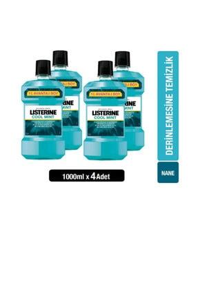 Listerine Cool Mint 4x1000 Ml 4 Lü Set