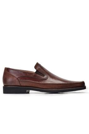 Nevzat Onay Hakiki Deri Kahverengi Günlük Loafer Erkek Ayakkabı -8394-