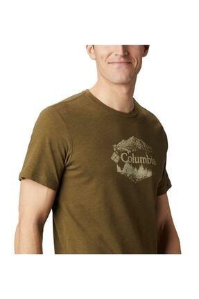Columbia Hex Natured Ss Tee Erkek Kısa Kollu Tişört Cs0081-327