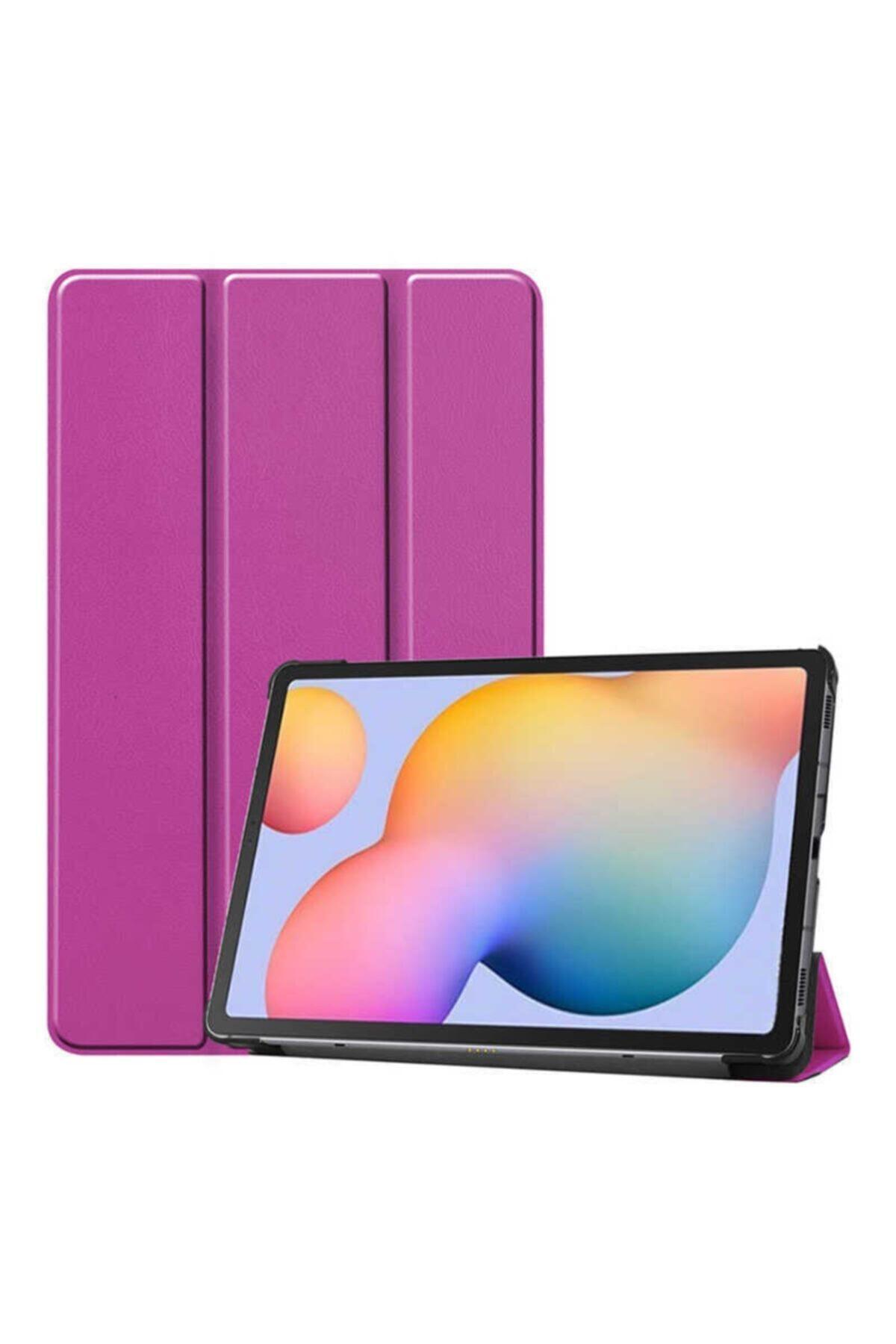 zore Samsung Galaxy Tab A7 10.4 (2020) Sm-t500 Uyku Modlu Mıknatıslı Kapak Smart Kılıf 1