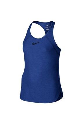 Nike Kız Çocuk Mavi Slam Tank Yth Atlet 724715-478