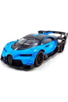 Karsan Oyuncak Mavi  Uzaktan Kumandalı Araba Kapıları Açılan Şarjlı Bugatti