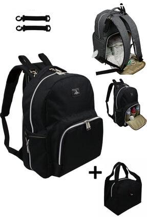 Stylo Duo Backpack For Mothers Bebek Bakım Çantası-siyah