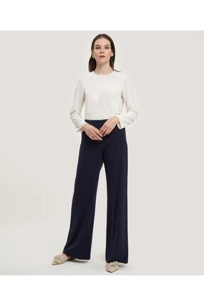 Aker Kadın Lacivert Dökümlü Pantolon V35590129