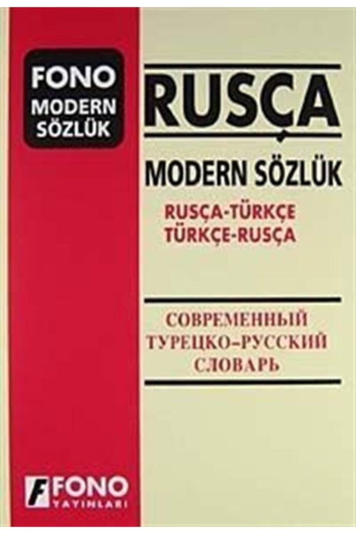 Fono Yayınları Rusça Modern Sözlük (rusça-türkçe Türkçe-rusça) 1