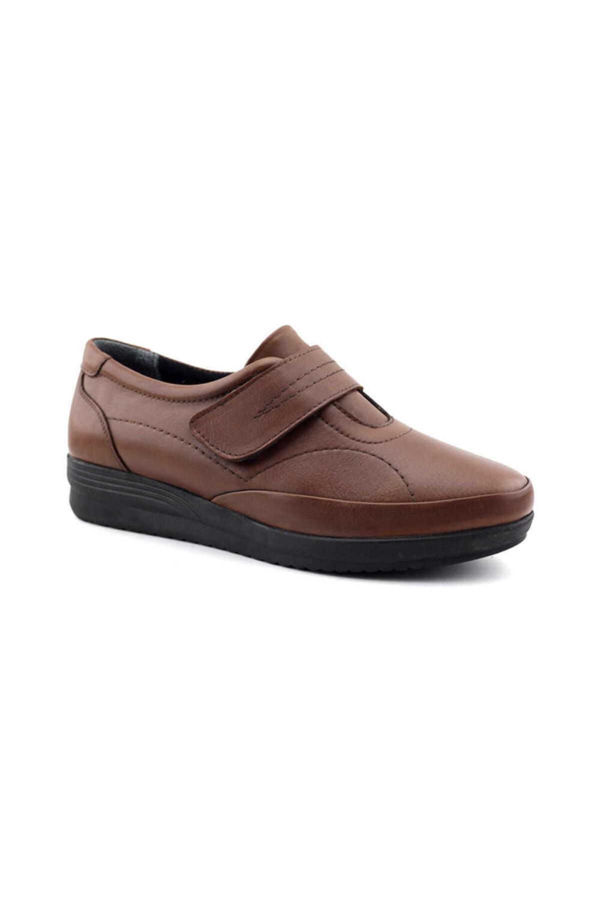Kayra Kadın Taba Hakiki Deri Ayakkabı 2