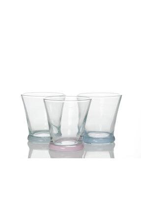 English Home Olimpia Cam 3'lü Meşrubat Bardağı 170 Cc Renkli