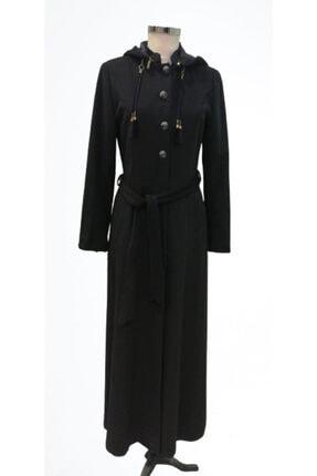 Doque Kadın Siyah Palto