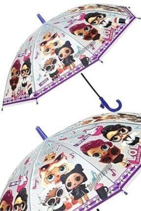 ArananNeVarsa Unisex Çocuk Mor Düdüklü Otomatik Şemsiye
