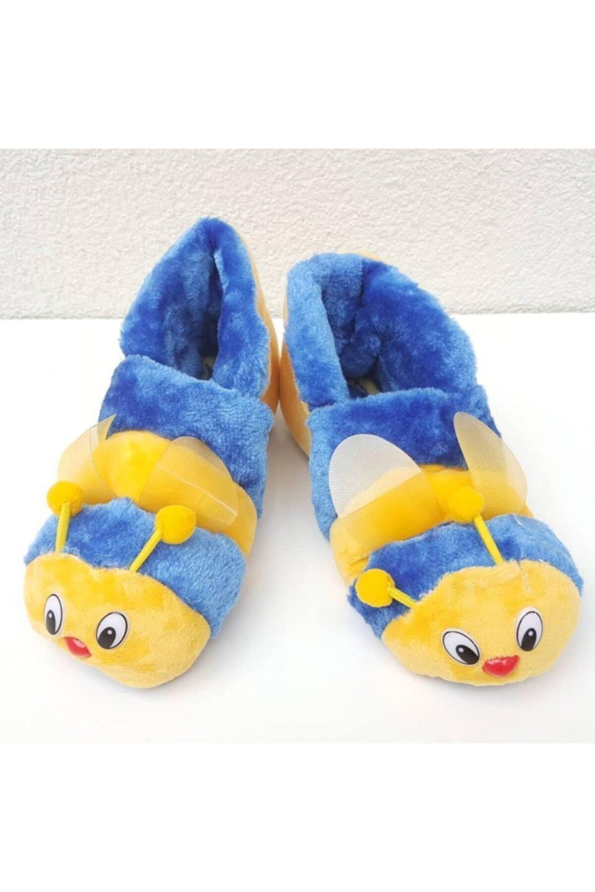 bebegen Kanatlı Sarı Mavi Arı Panduf 1