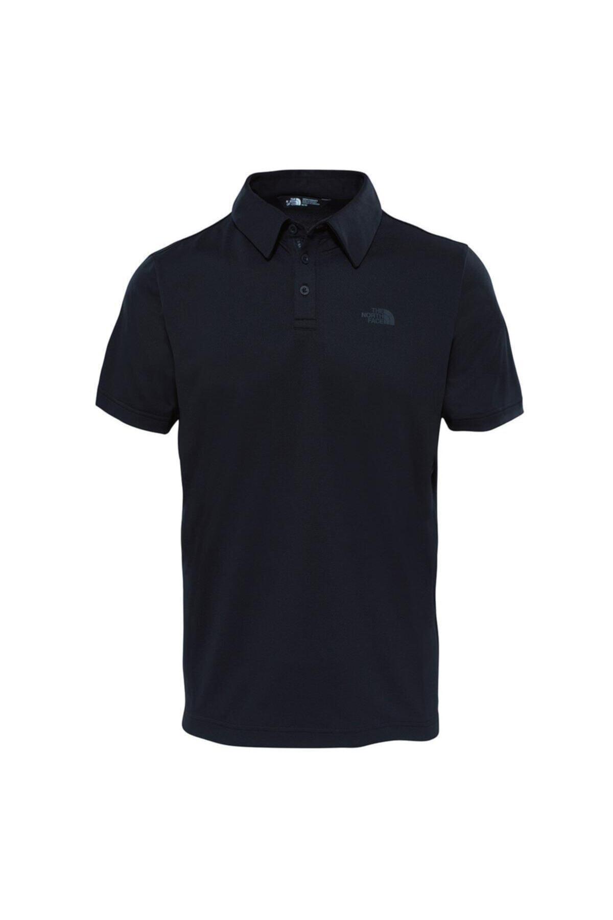 THE NORTH FACE Tanken Polo Erkek T-shirt Siyah 1