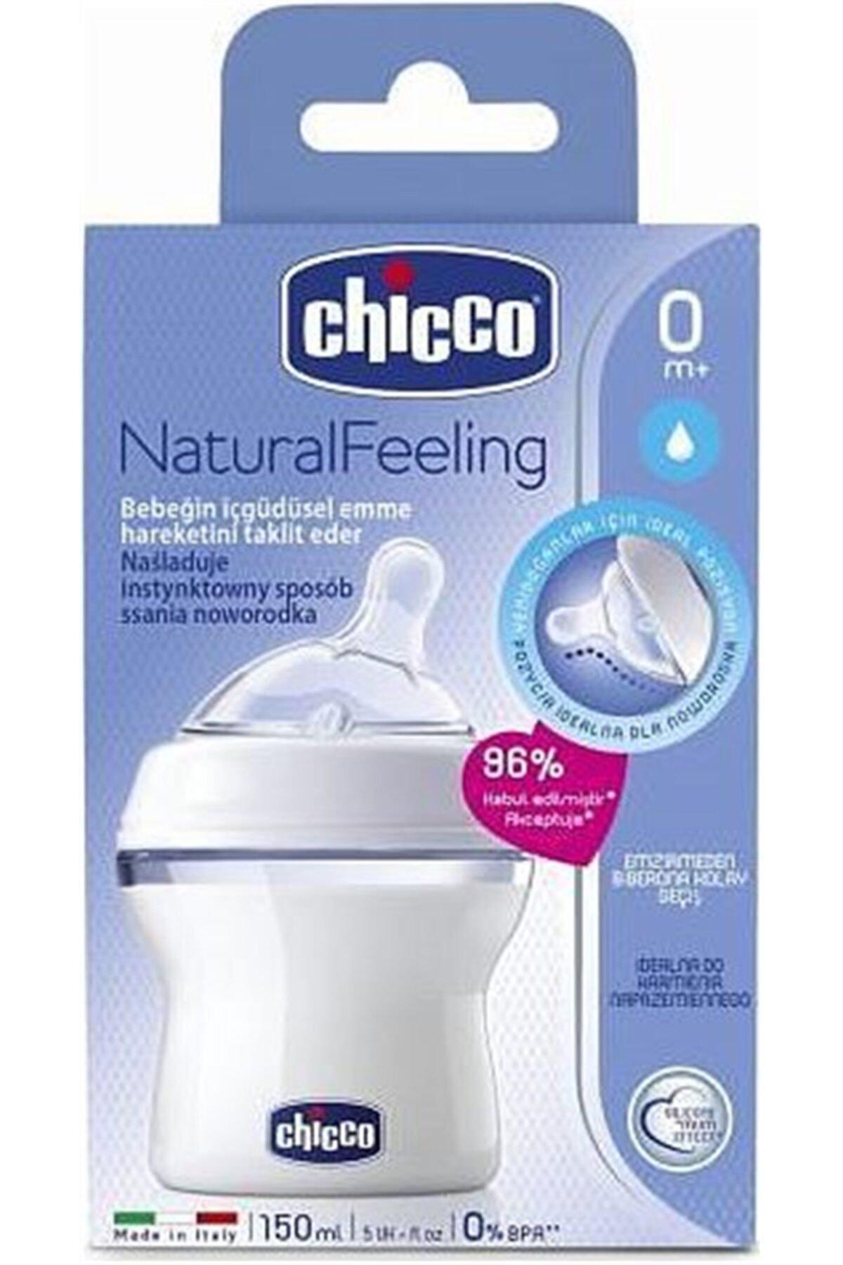Chicco Natural Feeling Silikon Emzikli Pp Biberon 150 Ml 0+ Ay 2