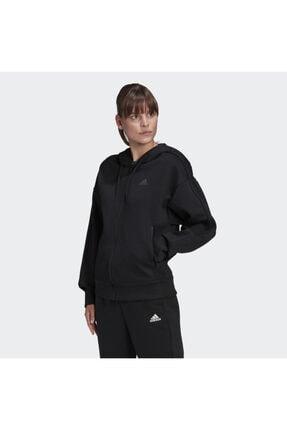 adidas W S2LDN FZ HD Siyah Kadın Sweatshirt 101118199