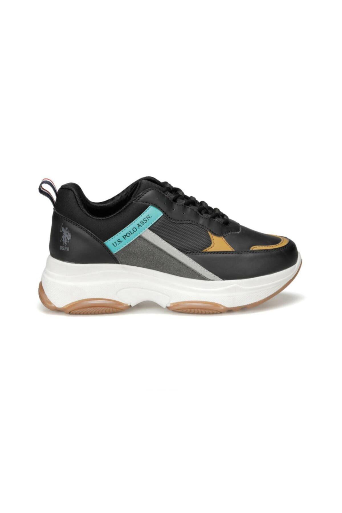 U.S. Polo Assn. BETSY 9PR Siyah Kadın Sneaker Ayakkabı 100417775 2