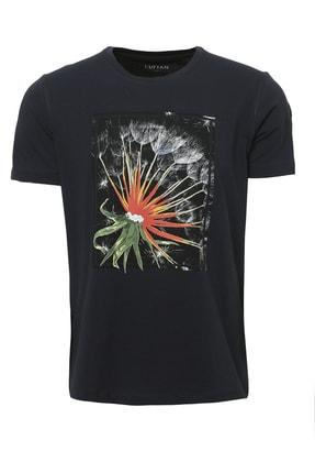 Lufian Felıta Modern Grafik T- Shirt Siyah